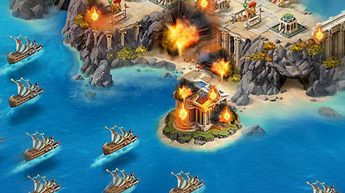 War odyssey: Gods and heroes Screenshot