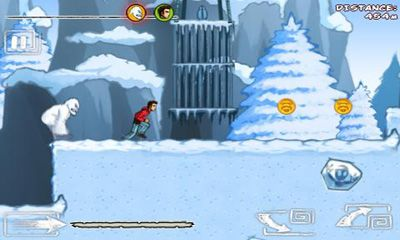 Скриншот Run Like Hell! Yeti Edition на андроид