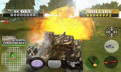 d'action Tank War Defender 2 pour smartphone