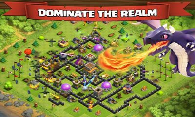 Online Strategy games Clash of clans in English