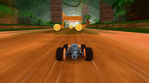 Rennspiele All-star fruit racing VR für das Smartphone