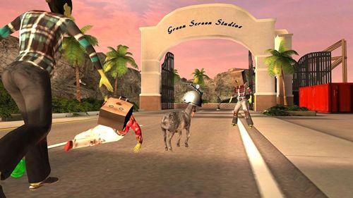 Screenshot Ziegensimulator: GoatZ auf dem iPhone