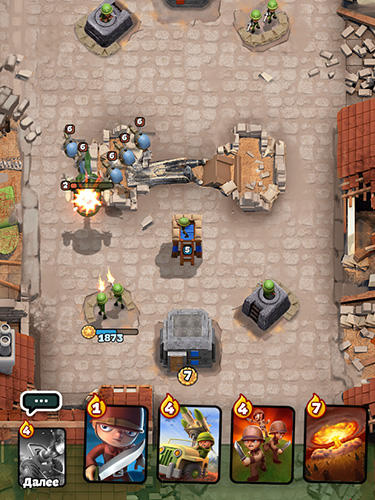 War heroes: Clash in a free strategy card game für Android