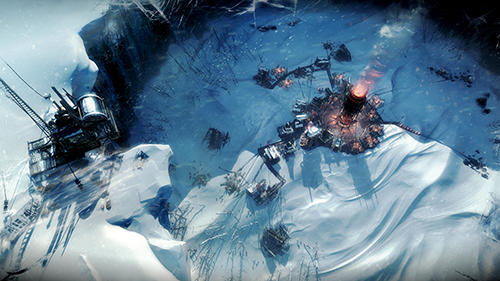 Economic strategy games Frostpunk in English