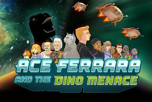 logo Ace Ferrara und die Dino Bedrohung