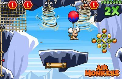 Fliegende Affen für iPhone