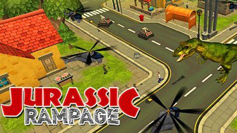 logo Jurassic Rampage