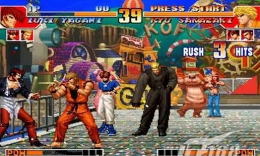 Juegos con multijugador The king of fighters 97 para teléfono inteligente