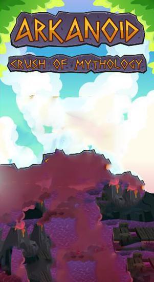 Arkanoid: Crush of Mythology. Brick breaker Screenshot
