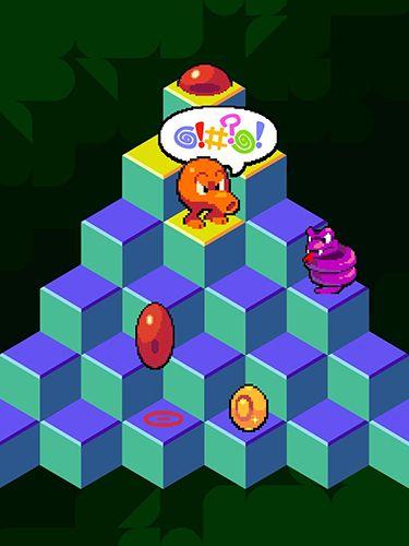 iPhone用ゲーム Qbert のスクリーンショット