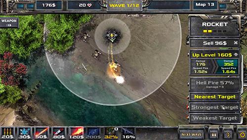 Strategie Tower defense: Defense legend 2 für das Smartphone