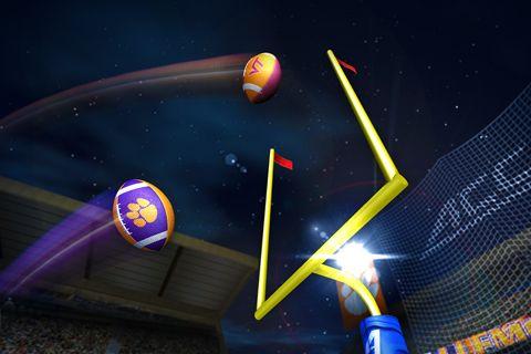 Screenshot ACC Football Challenge 2014 auf dem iPhone