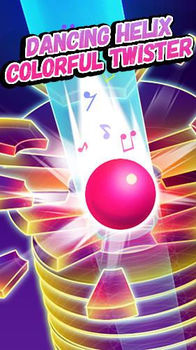 Dancing helix: Colorful twister screenshot 1