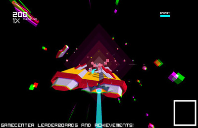 Screenshot Futuridium EP auf dem iPhone