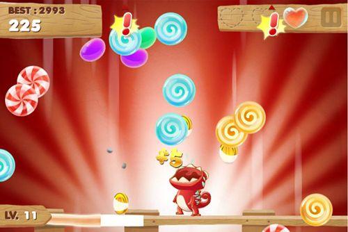 Аркады игры: скачать Candy Meleon на телефон