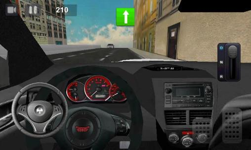 Perfect racer: Car driving für Android