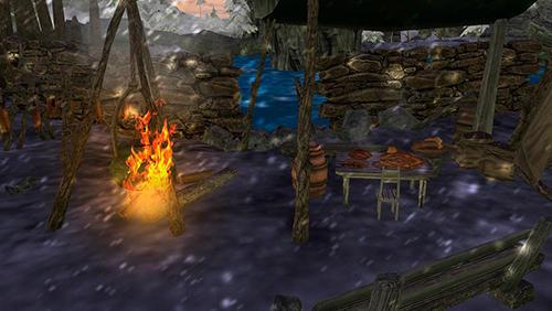 Vikings survival simulator 3D captura de pantalla 1