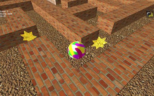 logiques Maze 3D pour smartphone