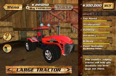 Capture d'écran Les Courses en Machines Agricoles sur iPhone