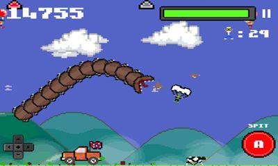 Arcade-Spiele Super mega worm für das Smartphone