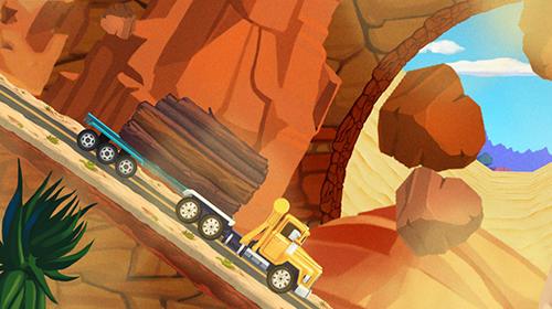 Arcade Truck driving race US route 66 für das Smartphone