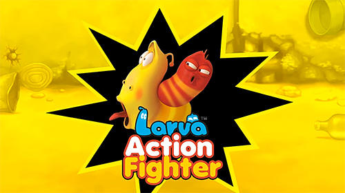 Larva action fighter Screenshot