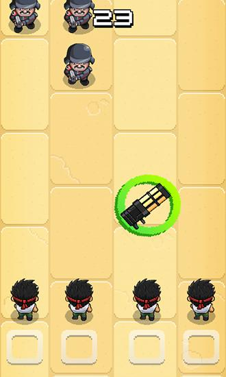 Arcade games Tap army for smartphone