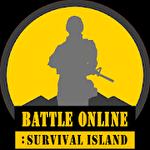 Battle online: Survival island icono