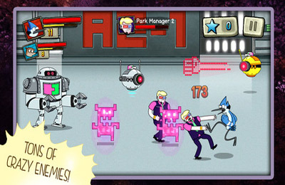 Best Park In the Universe - Regular Show for iPhone for free