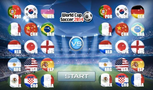 Simulation games World cup soccer 2014 for smartphone