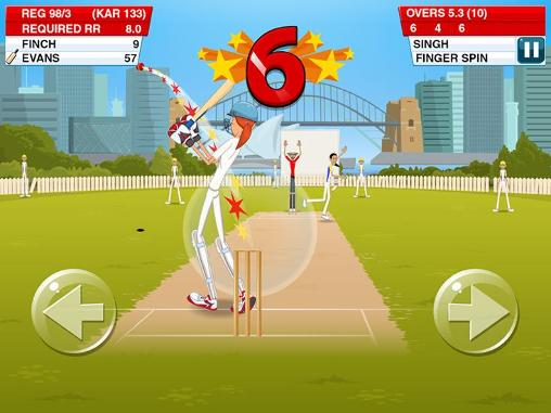 Sportspiele Stick cricket 2 für das Smartphone