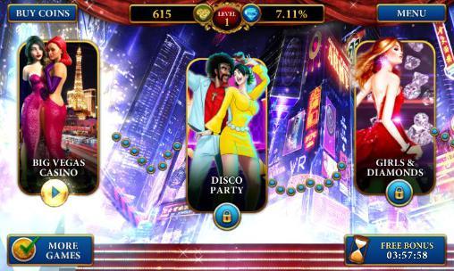 Glücksspiel Big Las Vegas casino: Slots machine für das Smartphone