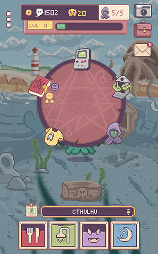 ペットのゲーム Cthulhu virtual pet 2 の日本語版