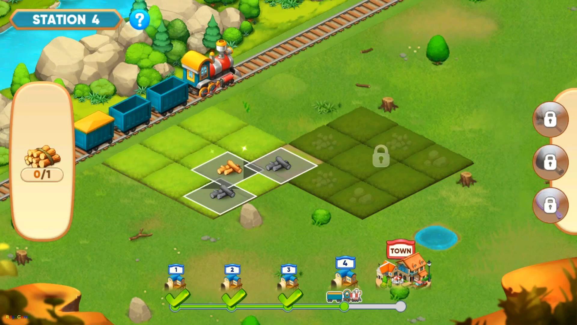 Merge train town! captura de tela 1