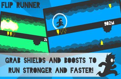 Arcade games: download Flip Runner! to your phone