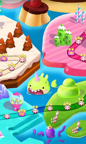 Arcade Candy blast mania: Sea monsters für das Smartphone