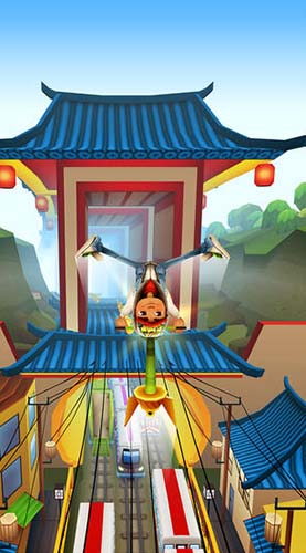 Arcade Subway surfers: World tour Beijing für das Smartphone