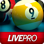 Pool live pro: 8-ball and 9-ball ícone