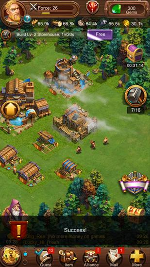 War ages: Legend of kings für Android