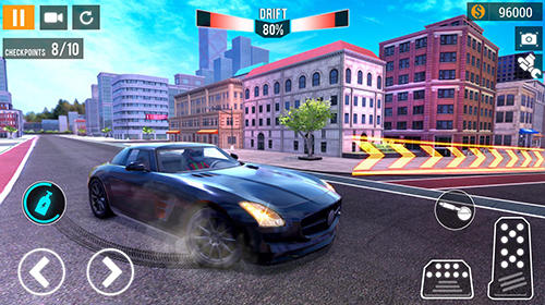 City car racing simulator 2019 скріншот 1