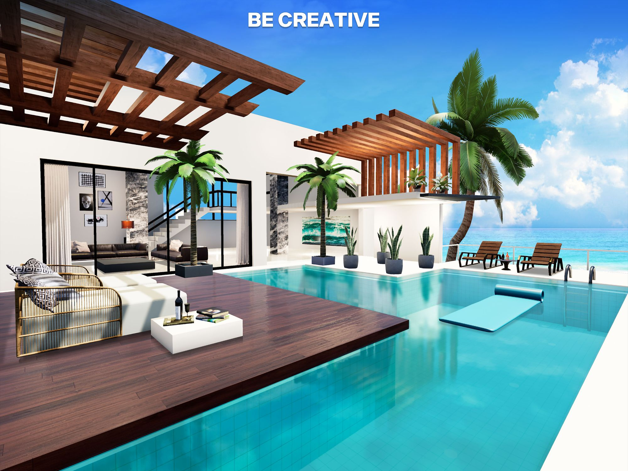 Home Design : My Lottery Dream Home captura de pantalla 1