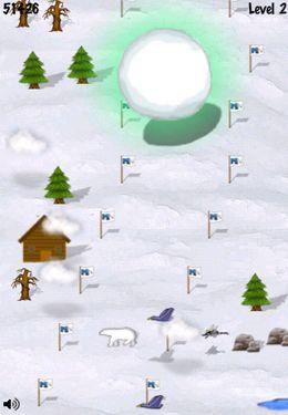 Schneeball-Rennen für iPhone