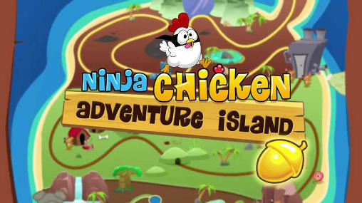 Ninja Chicken: Adventure island скриншот 1