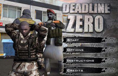 logo Deadline Zero – Seek and Destroy