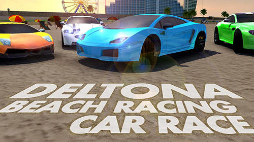 Deltona beach racing: Car racing 3D ícone