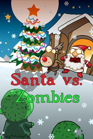 logo Santa contra zombis