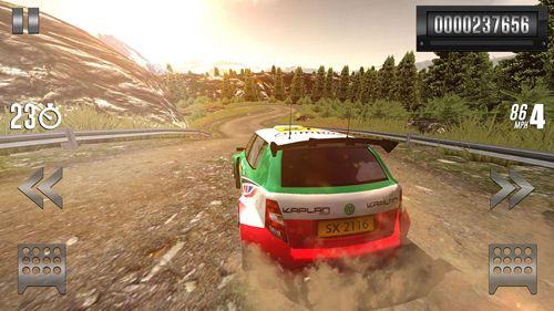 Гонки: скачать Rally racer: Drift на телефон