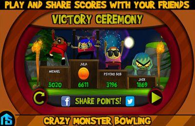 d'arcade: téléchargez Le Bowling avec les Monstres Fous sur votre téléphone