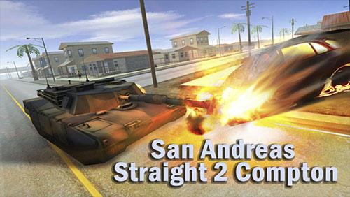 San Andreas straight 2 Compton screenshot 1