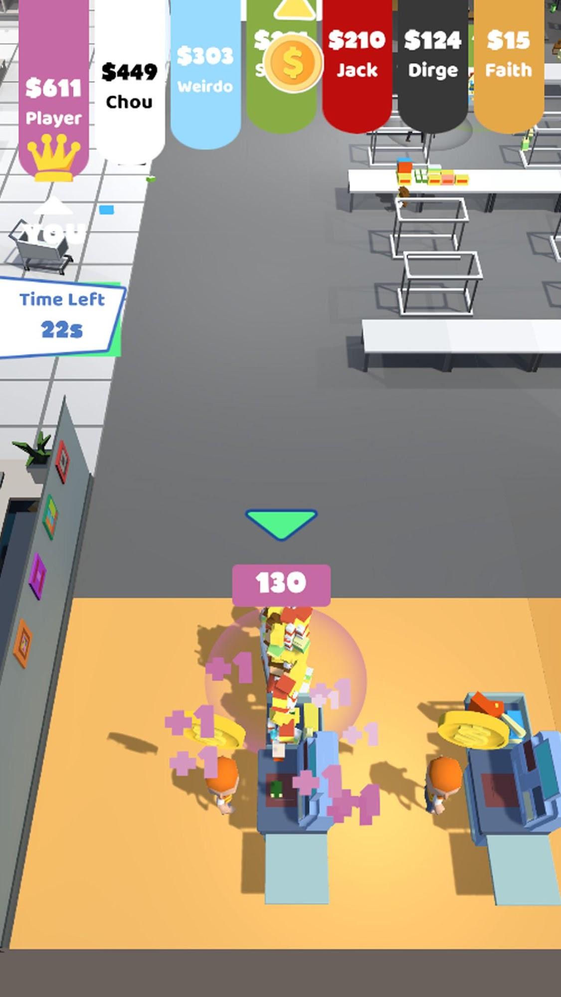 Shopping Rush.io captura de pantalla 1